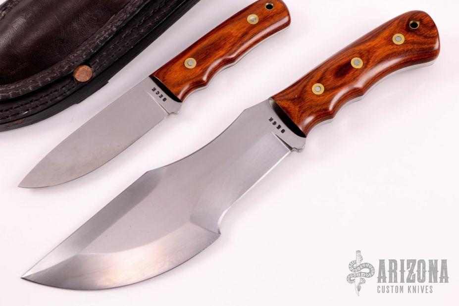 Original Wsk Tracker Knife Set 10 And 46 Arizona Custom Knives
